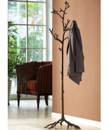 SPI Home Bird On Branch Lovebird Coat Rack Hat Tree Stand Bronze Finish ... - $335.00
