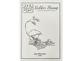 """Lili of the Valley Unmounted Rubber Stamp """"Lazy Afternoon"""" #ST005 image 1"""