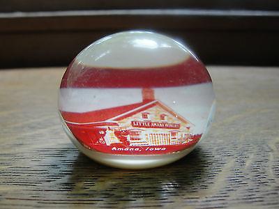 Amana, Iowa, souvenir, handmade at Grove house, Alton, Ontario, Canada, old