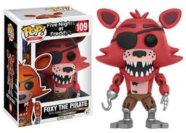 Funko Pop Games Five Nights At Freddy's: Foxy The Pirate Vinyl Action Fi... - $28.00