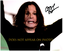 OZZY OSBOURNE Signed Autographed 8X10 Photo w/ Certificate of Authenticity  - $60.00