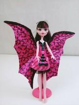 "Monster High 11"" Doll Draculara Ghoul to Bat Retired - $19.24"