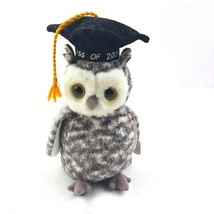 TY Beanie Baby Smart the Owl 2001 Graduation Cap  - $6.93