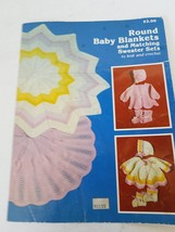 Round Baby Blankets And Matching Sweater Sets To Knit And Crochet - $8.90
