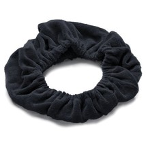 TASSI Black Hair Holder Head Wrap Stretch Terry Cloth, The Best Way To Hold Your