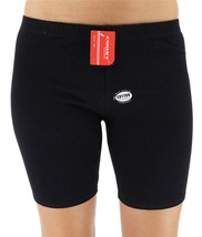 NEW COONY WOMEN'S PREMIUM ATHLETIC GYM SPORT WORKOUT SHORTS BLACK S603