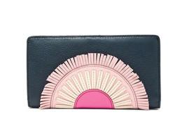 New Fossil Women Caroline Rfid Leather Slim Bifold Wallet Variety Colors - $69.29+