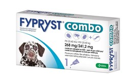 Fypryst Combo spot-on fleas ticks & worms treatment 20-40 kg large dogs ... - €19,52 EUR