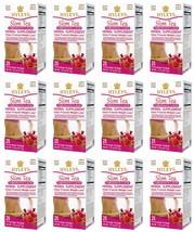 12 Packs of Hyleys 100% Natural Slim Green Tea Pomegranate Flavor 25 Teabag Each - $59.99