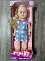 """My Life As 18"""" Poseable Everyday Doll, Blonde Hair Blue 18"""" - $32.88"""