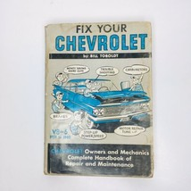 Vintage Fix Your Chevrolet 1959 to 1940 Repair Manual by Bill Toboldt Ex... - $12.51