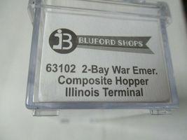 Bluford Shops #63102 Illinois 2-Bay War Emergency Composite Hopper N-Scale image 4
