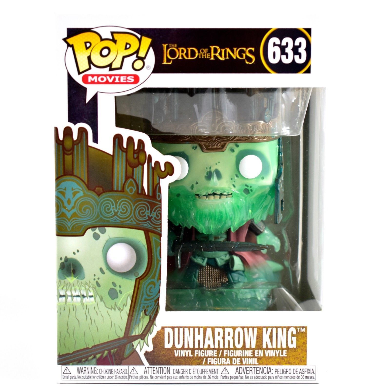 Funko Pop! Movies Lord of the Rings LotR Dunharrow King #633 Vinyl Action Figure