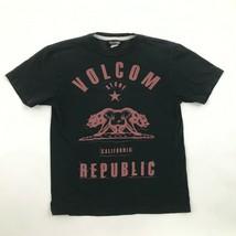 Volcom California Republic Camisa Urban Calle Moderno Skater Camiseta Relajado - $14.76