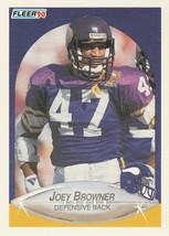 1990 Fleer #95 Joey Browner - $0.50