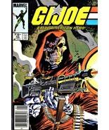 G.I Joe comic book, A Real American Hero #43, VF - Marvel Comics 1986 - $20.00