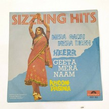 "Sizzling Hits bollywood vinyl Ep 7"" Record OST Polydor, Music Kalyanji (... - $18.69"
