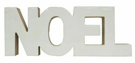 "Wondershop 11.5"" x 4.5"" Wooden Noel Christmas Holiday Mantle Word Decor Sign NWT"