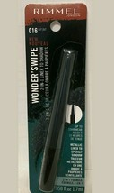 Rimmel Wonder Swipe 2-in-1 Liner To Shadow #016 Out Out Black 0.058 Fl O... - $6.42