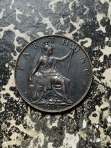1909 Great Britain 1 Farthing Lot#Z3782 Nice! - $9.50