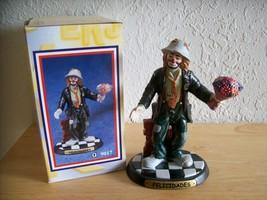 """1998 Emmett Kelly JR. """"Felicidades"""" Figurine (9017). - $30.00"""