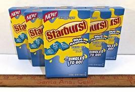Starburst BLUE Raspberry (LOT of 6) Singles To Go Drink Mix Zero-Sugar - $17.35