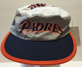 VTG Twins Enterprises San Diego Padres Baseball Club Painters Hat MLB SD... - $60.88