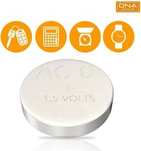 AG0, Coin Battery, Button Cell, 1.5 Volt, Generic image 3