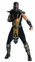 Rubies Adulto Mortal Kombat Escorpión Halloween Cosplay Videojuego Disfraz - $41.17