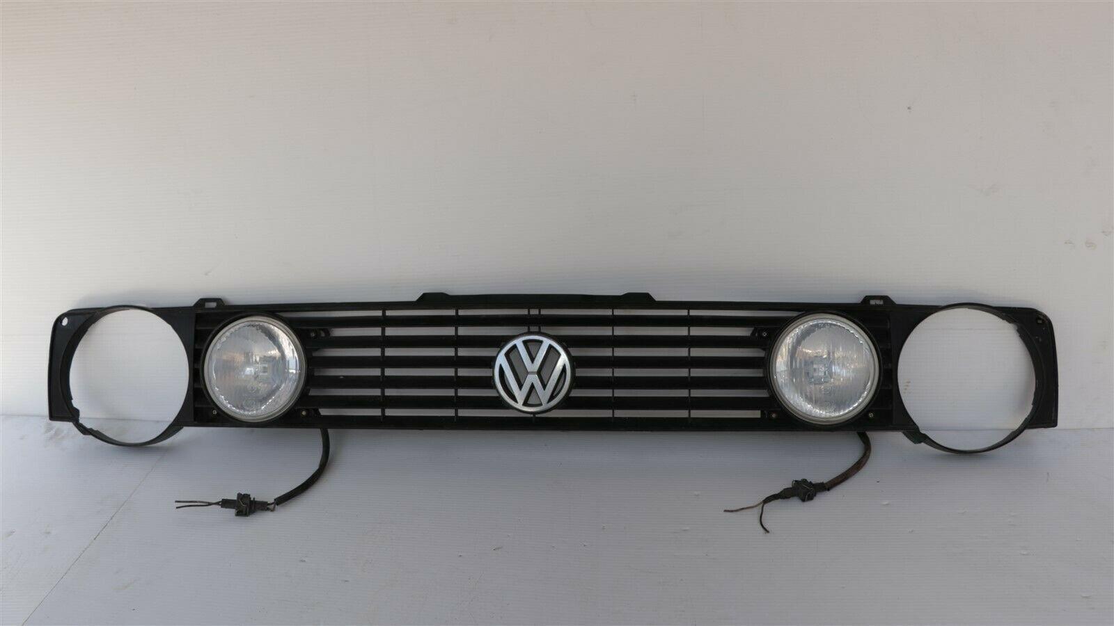 Volkswagen VW Mk1 Rabbit Golf Cabrio 4-Light Hella Grill Grille 88-93