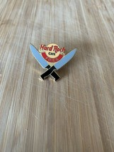 Online☑️hard Rock Cafe Hrc Pin Kitchen Staff Awarded Knives Series Station Fries - $11.30