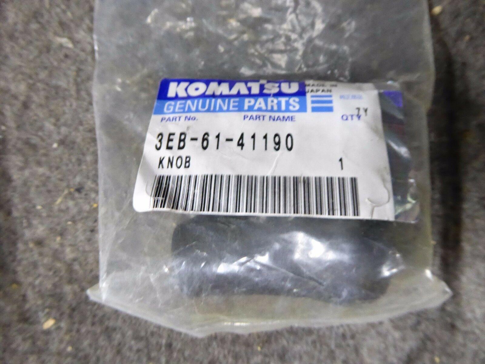 Genuine Komatsu Knob 3EB-61-41190