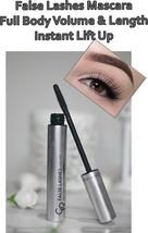 False Lashes Mascara Full Body Volume & Length Instant Lift Up Golden Rose - $6.84