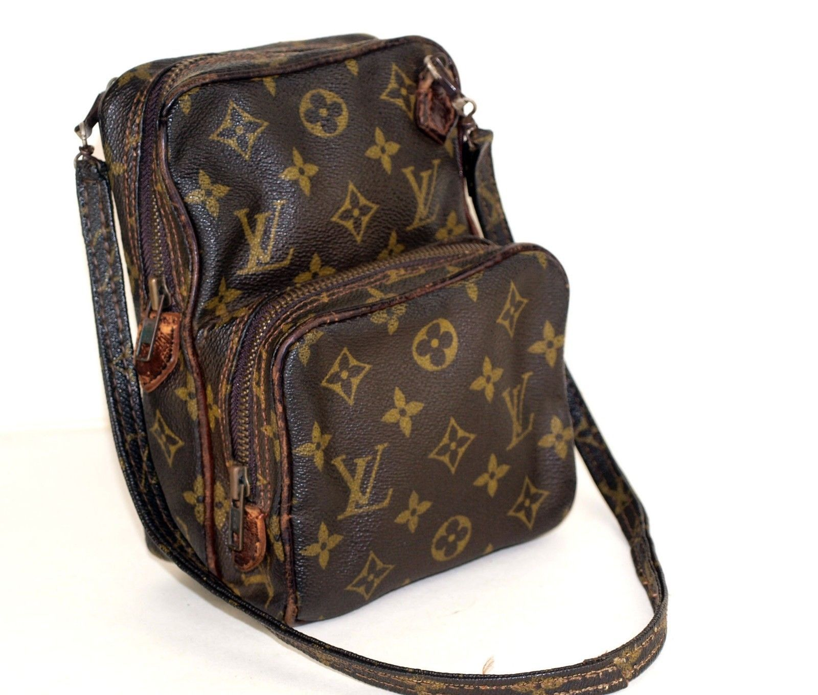 b7fd625e87fe 57. 57. Previous. 100% Authentic Louis Vuitton Monogram Mini Amazone Shoulder  Bag France. 100% Authentic ...