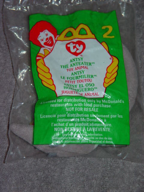 64a7d0f7744 Ty Teenie Beanie Babies McDonald s   2 Antsy and 50 similar items