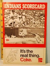 1971 Cleveland Indians Baseball Program v Red Sox Scored SOHIO X70 July 8 - $9.89