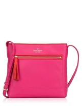 Kate Spade Dessi Chester Street Leather Crossbody Bag in Sweetheart Pink... - $159.00