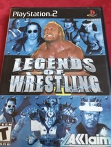 Ps2 Playstation 2 Legends Of Wrestling Game - $3.99