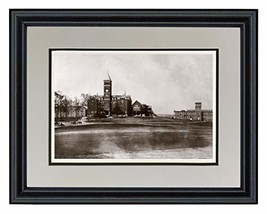 "Schooner Bay Co. 11"" x 14"" Clemson University - Tillman & Godfrey Halls,... - $58.56"