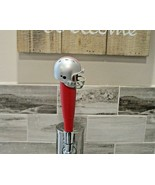 NCAA Ohio State Buckeyes Tap Handle Kegerator Football Beer Keg Red Wood... - $26.68