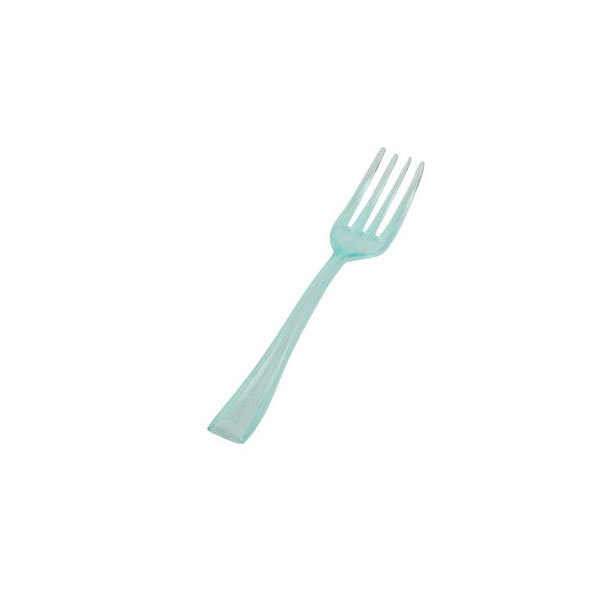 Green 4 Inch Tiny Tines Forks/Case of 960