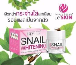 Le' SKIN SNAIL WHITENING SECRETION FILTRATE MOISTURE FACIAL CREAM 50 ml. - $73.19