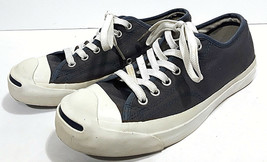 Converse JACK PURCELL Canvas Shoes Mens 6 Womens 7.5 Blue Low Top Sneakers  - $28.53