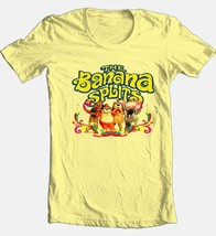 Banana Splits T-shirt Saturday morning 80s cartoons 100% cotton yellow tee image 1