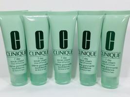 5pc CLINIQUE 7 Day Scrub Cream Cleanser 1.7fl.oz each (Total 8.5oz) Exp.10/2022 - $19.99