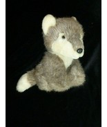 "DAKOTA Russ Berrie Co. Plush Wolf Pup Dog Husky Stuffed Toy Animal 8"" - $25.63"