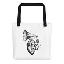 Heart Speaks Tote Bag - $40.00