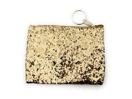 "4.5"" Sparkle Glitter Coin Purse w/ Keychain - $5.45+"