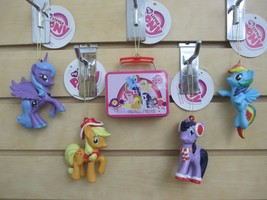 My Little Pony Ornaments - Applejack, Rainbow Dash, Twilight, Pinkie - S... - $25.00