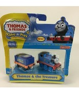 Thomas & Friends Take N' Play Thomas Treasure Die Cast Metal Train  2010... - $26.68